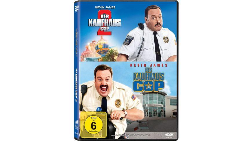 Der Kaufhaus Cop 1 + 2 - DVD Set