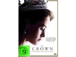 The Crown Die komplette erste Season 4 DVDs