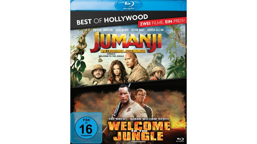 Jumanji: Willkommen im Dschungel / Welcome to the Jungle - Best of Hollywood  [2 BRs]