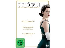 The Crown Die komplette zweite Season 4 DVDs