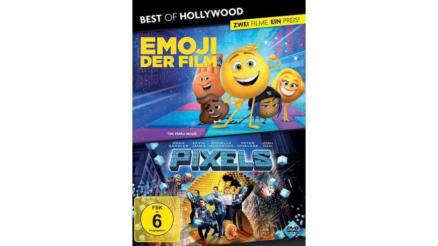 BEST OF HOLLYWOOD 2 Movie Collector s Pack 183 Emoji Der Film Pixels 2 DVDs