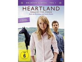 Heartland Paradies fuer Pferde Staffel 8 1 Episode 1 9 3 DVDs