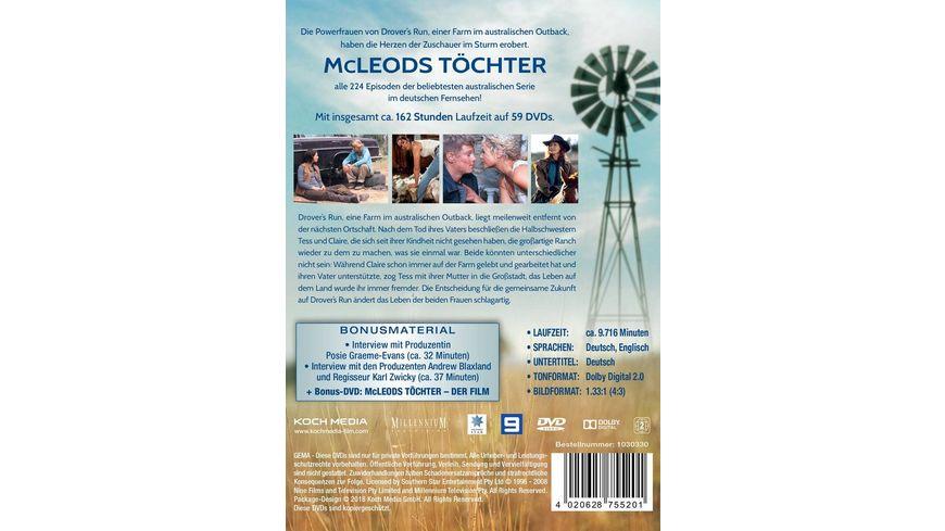 McLeods Toechter Die komplette Serie 59 DVDs