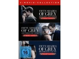 Fifty Shades of Grey 3 Movie Collection 3 DVDs