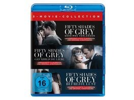 Fifty Shades of Grey 3 Movie Collection 3 BRs