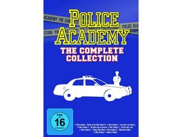 Police Academy Complete Collection 7 DVDs