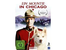 Ein Mountie in Chicago Staffel 3 3 DVDs