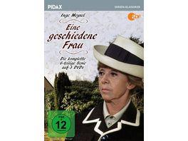 Eine geschiedene Frau Die komplette 6 teilige Serie mit Starbesetzung Pidax Serien Klassiker 3 DVDs