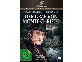 Der Graf von Monte Christo fernsehjuwelen 2 DVDs