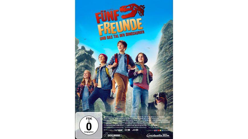 Fuenf Freunde und das Tal der Dinosaurier