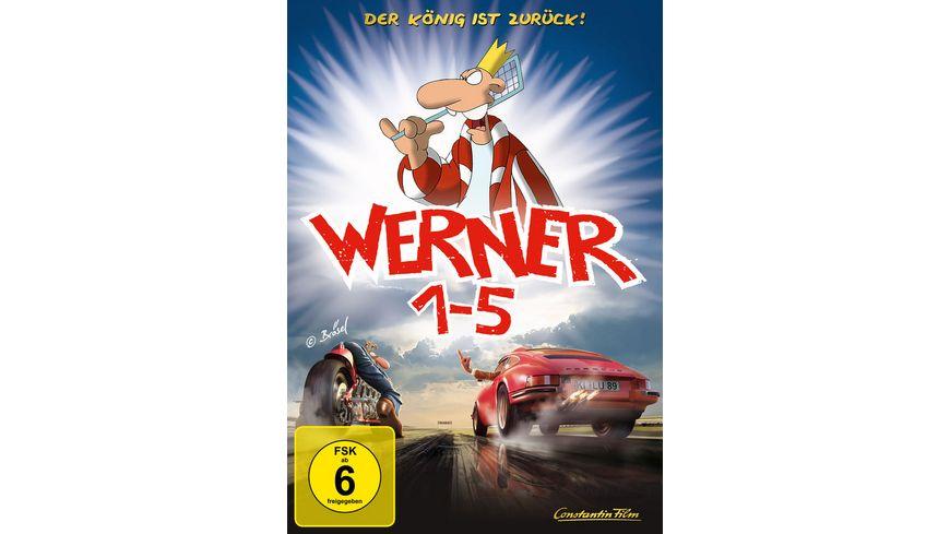 Werner 1 5 Koenigbox 5 DVDs