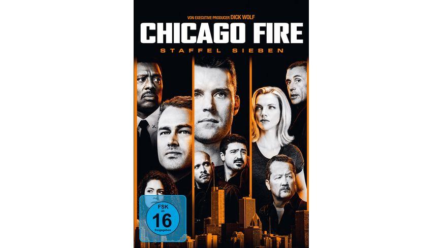 Chicago Fire Staffel 7 6 DVDs