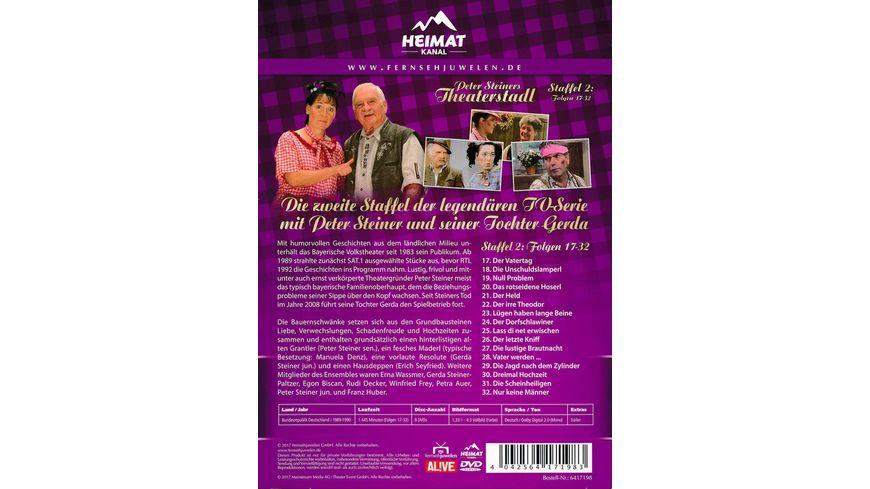 Peter Steiners Theaterstadl Staffel 2 Folgen 17 32 8 DVDs