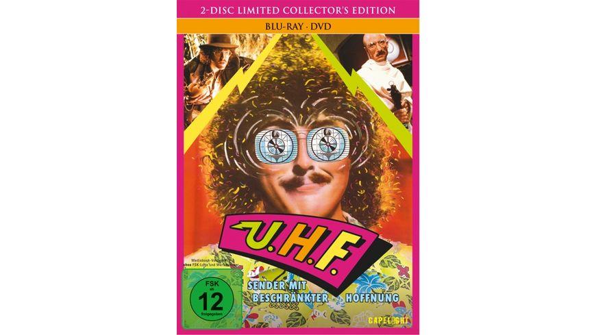 UHF - Sender mit beschränkter Hoffnung - Mediabook  (+ DVD) [LCE]