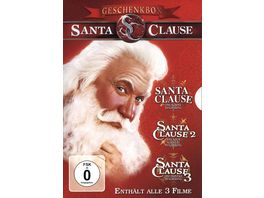 Santa Clause 1 3 3 DVDs