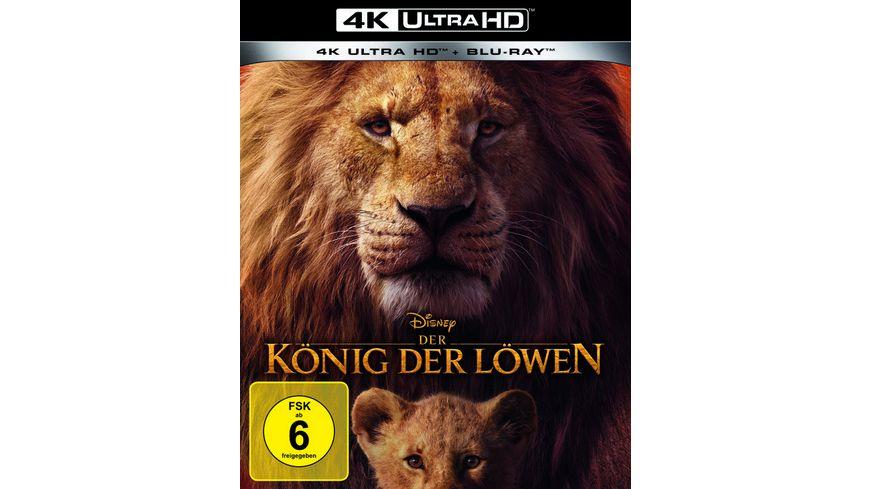 Der Koenig der Loewen 4K Ultra HD Blu ray 2D