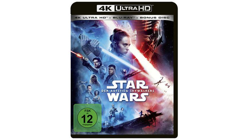 Star Wars - Der Aufstieg Skywalkers  (4K Ultra HD) (+ Blu-ray 2D) (+ Bonus-Blu-ray)