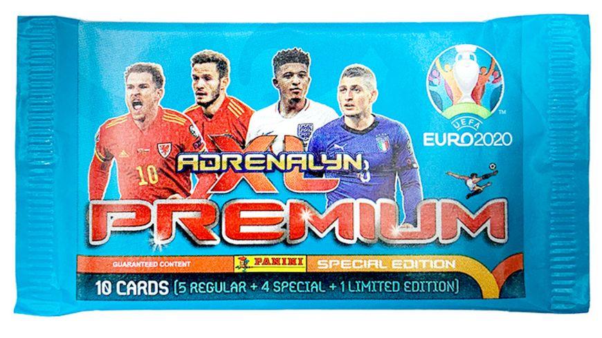 Panini EURO 2020 Adrenalyn XL Trading Cards Premium Pack