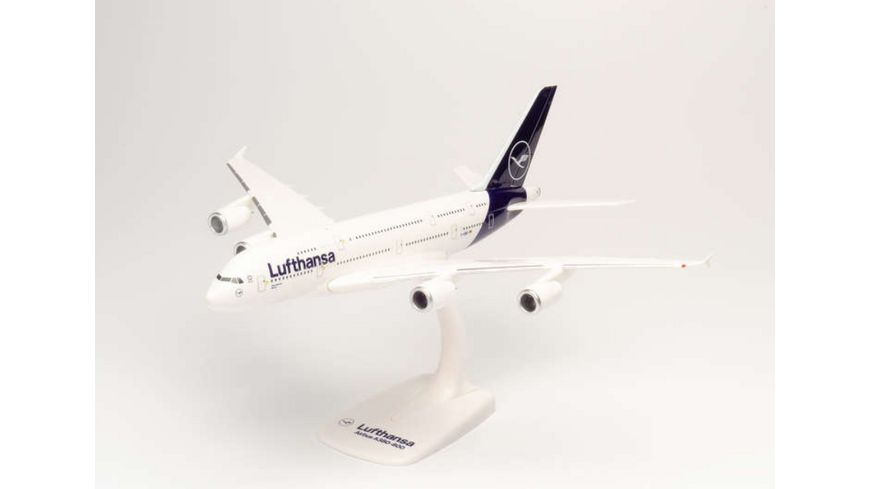 Herpa 612319 Snap Fit Lufthansa Airbus A380