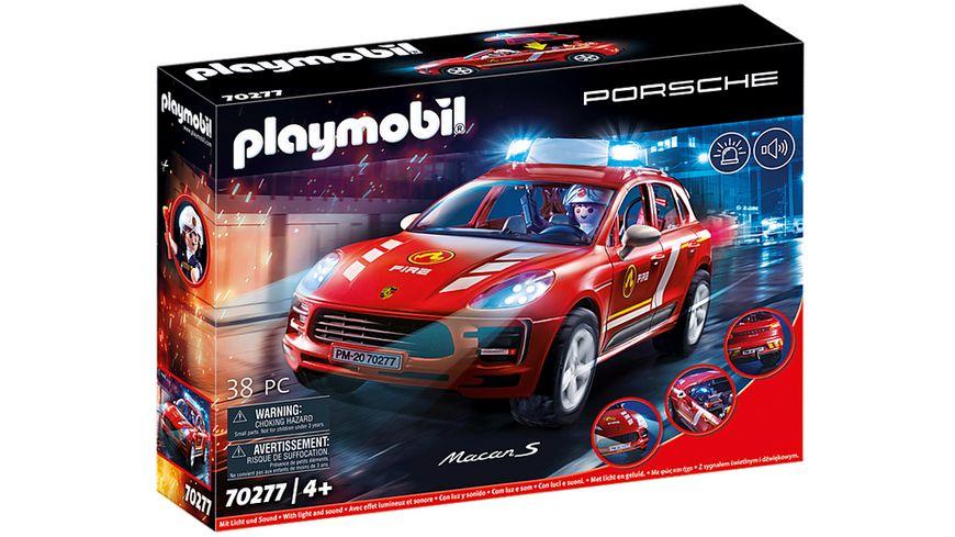 PLAYMOBIL 70277 City Action Porsche Macan S Feuerwehr