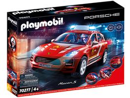 PLAYMOBIL 70277 City Action Porsche Macan S Feuerwehr