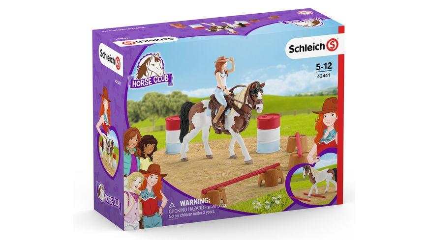 Schleich 42441 Horse Club Hannahs Western Reitset