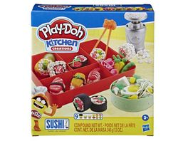 Hasbro Play Doh Kitchen Creations Sushi Spielset
