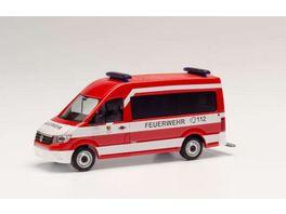 Herpa 094993 Mercedes Benz Sprinter Halbbus Polizei Berlin Gefahrgutueberwachung