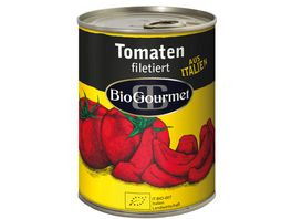 BioGourmet Tomaten filetiert