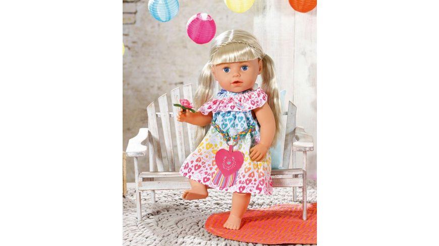 Zapf Creation BABY born Rainbow Leo Kleid 43cm