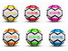 Xtrem Toys HEIMSPIEL Fussball Gr 5 Colourful Stripes 5fach farbl sortiert