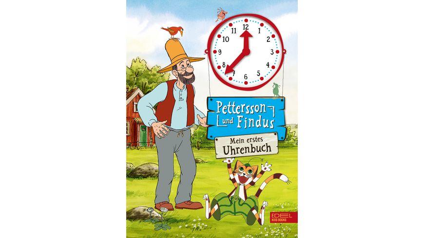 Pettersson und Findus Mein erstes Uhrenbuch
