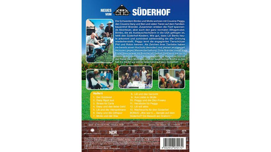 Neues vom Suederhof Staffel 5 Suederhof II 2 DVDs