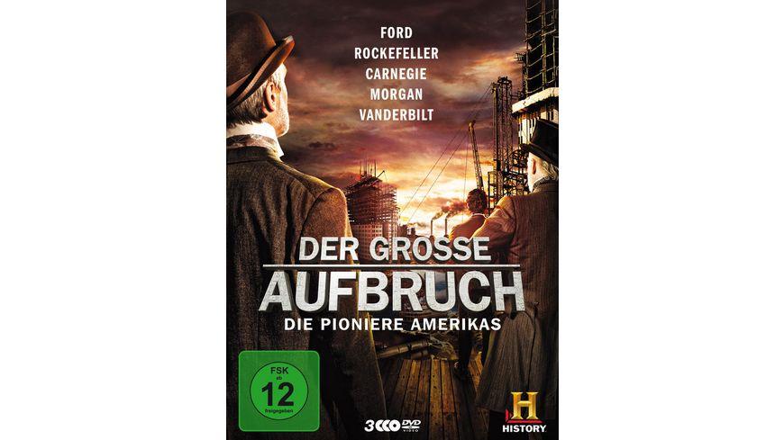 Der grosse Aufbruch Die Pioniere Amerikas 3 DVDs