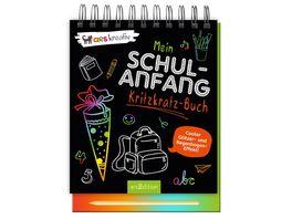 Mein Schulanfang Kritzkratz Buch