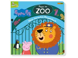 Peppa Pig Peppa im Zoo Mein tierisches Klappenbuch Pappbilderbuch mit vielen Klappen