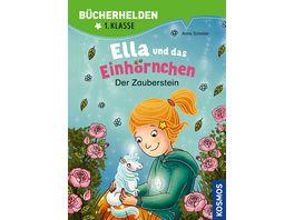 Ella und das Einhoernchen Buecherhelden 1 Klasse Der Zauberstein