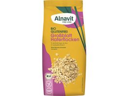 Alnavit Bio Haferflocken Grossblatt glutenfrei