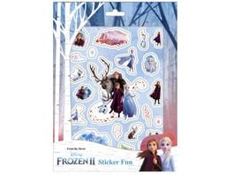 Undercover FRUW0061 Frozen II Sticker Fun