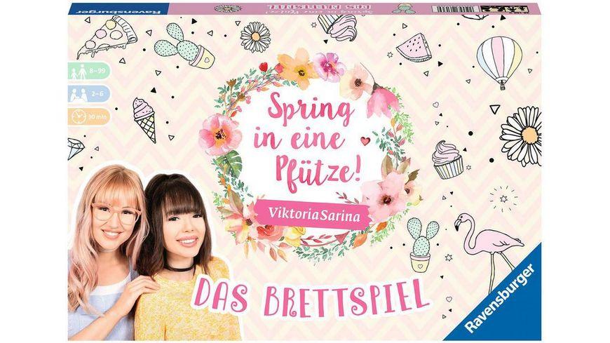 Ravensburger Spiel - Spring in eine Pfütze - Das Brettspiel