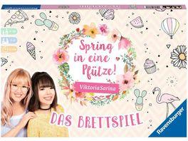 Ravensburger Spiel Spring in eine Pfuetze Das Brettspiel