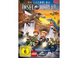 Lego Jurassic World Die Legende der Insel Nublar Staffel 1 2 DVDs