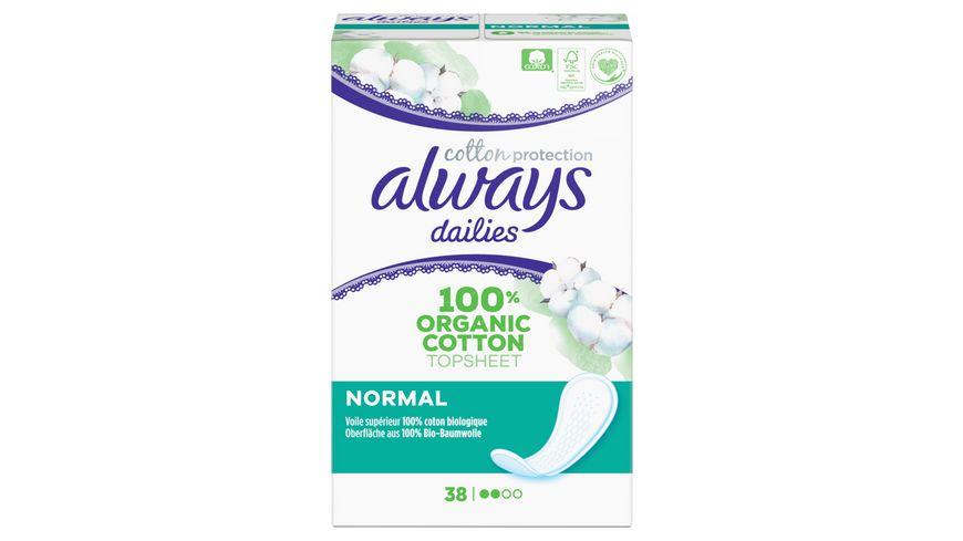 Always Cotton Protection Normal Slipeinlagen