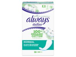 Always Cotton Protection Normal Slipeinlagen