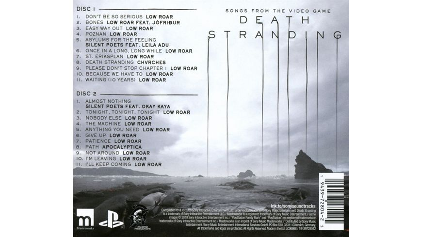 Death Stranding Songs from the Video Game