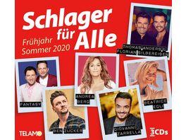 Schlager fuer Alle Fruehjahr Sommer 2020