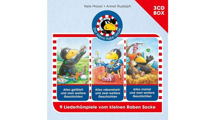 Der Kleine Rabe Socke 3 CD Hoerspielbox Vol 2