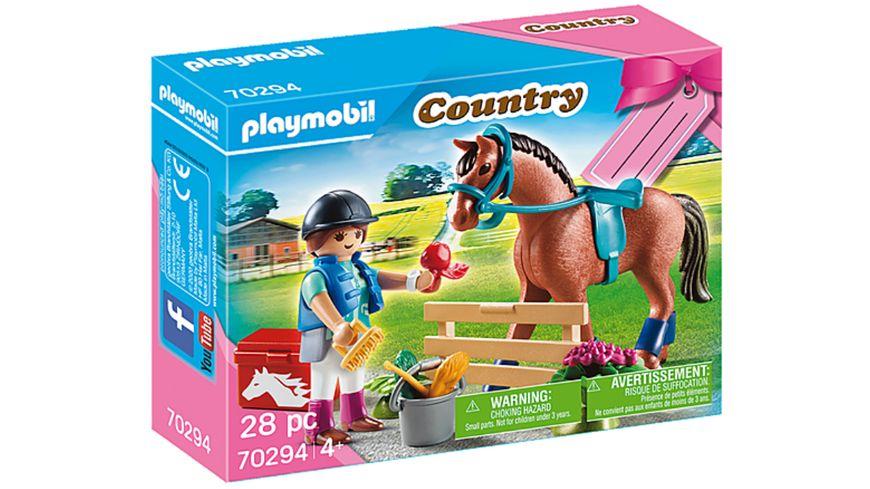 PLAYMOBIL 70294 Country Geschenkset Reiterhof