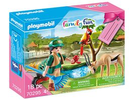 PLAYMOBIL 70295 Family Fun Geschenkset Zoo
