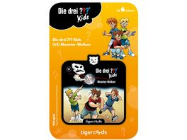 tigerbox tigercard Die drei Kids Monster Wolken